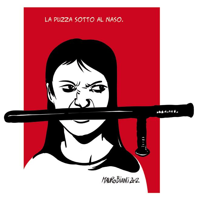 manifestante-tonfa-puzza-schizzinoso1